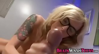 BrainWash Teen Handjob