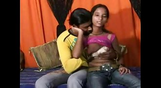 Indian Teen With Small Boobs Having Hard Anal Sex